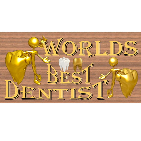 Dentist Wood Signs - Handmade Wood Sign Dentist - GS 2367 - Dentist Plaque - Dentist Office Sign