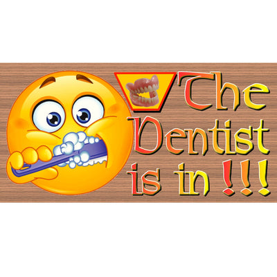 Dentist Wood Signs - Handmade Wood Sign Dentist - GS 2385