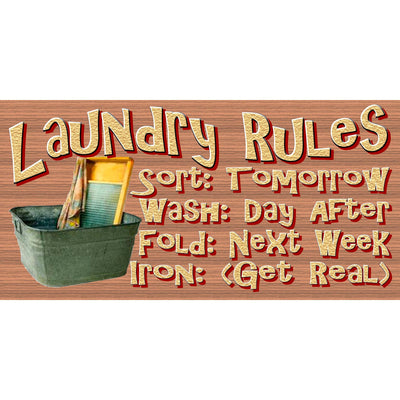 Laundry Wood Signs -Laundry Room Plaque -GS 2488 - Laundry Room Sign