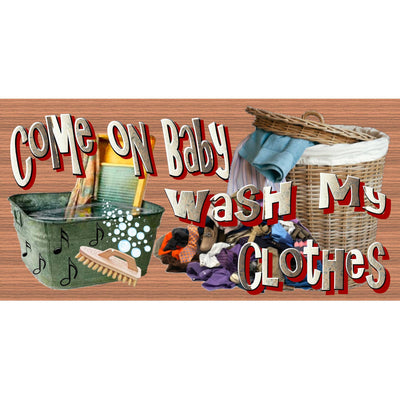 Laundry Wood Signs -Laundry Room Plaque -GS 2491 - Laundry Room Sign
