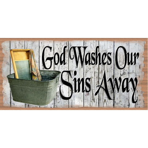 Spiritual Wood Signs -Laundry Room Plaque -GS 2515 - Laundry Room Sign