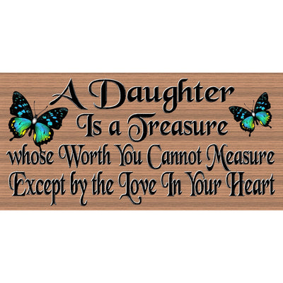 Daughter Wood Signs - Plaque -GS 2593