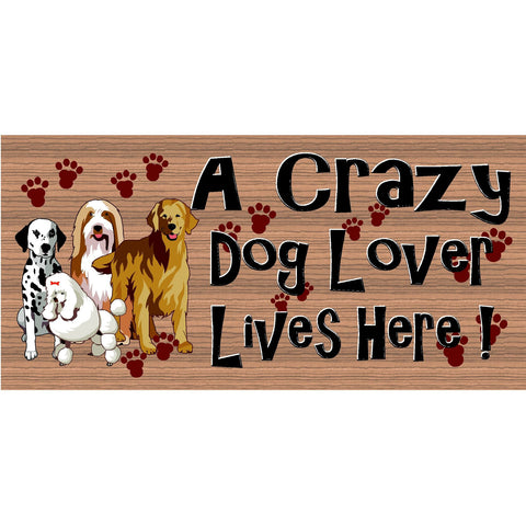 Dog Wood Signs - Dog Lover Plaque GS 2608-Veterarian Sign