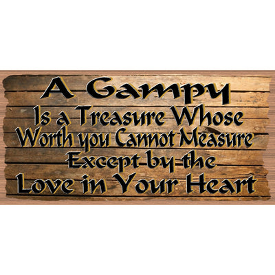 Gampy Wood Signs - Gampy Plaque GS 2624