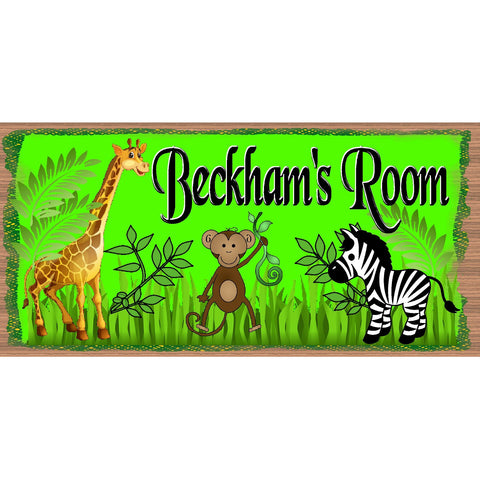 Personalized Wood Signs -Childs Room GS 2633 (Inlcude Name With Order)