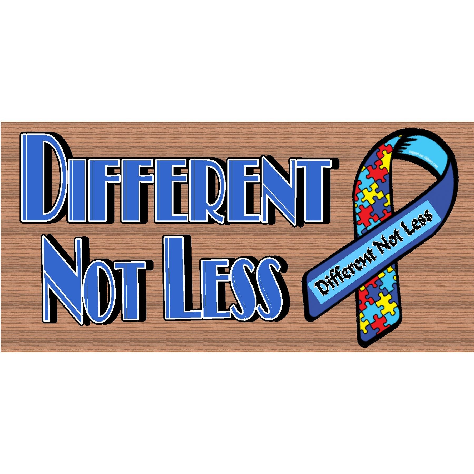 Autism Wood Signs -  Autism Awareness Plaque -GS 2655