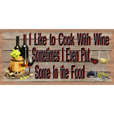 Kitchen Wood Signs -Wine Sign - Wine Plaque- GS 2659 - Kitchen sign