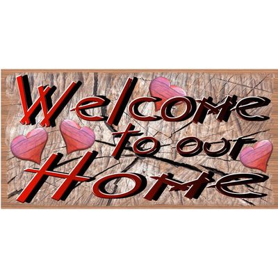 Welcome Wood Signs - GS 2704 -Cajun Welcome to Our Home