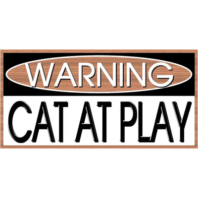 Cat Wood Sign - GS 2759 - Cat Plaque