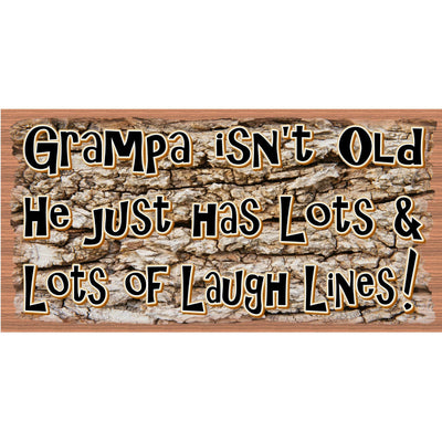 Grampa Wood Signs - Grandpa Plaque GS 2791