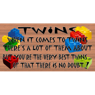Twins Wood Signs -Twins Plaque -GS 2798