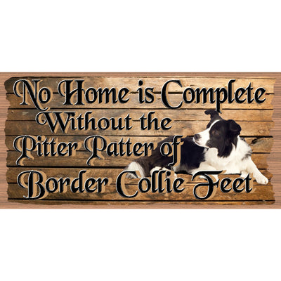 Border Collie Wood Signs - Border Collie Plaque - GS 2865