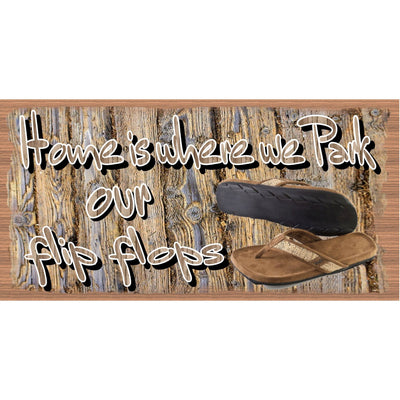 Flip Flop Wood Signs -Flip Flop Plaque - GS 2920