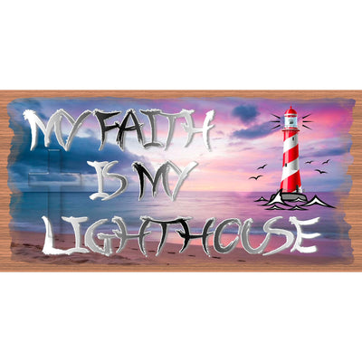 Spiritual Sign -My Faith is My Lighthouse - GS 2935