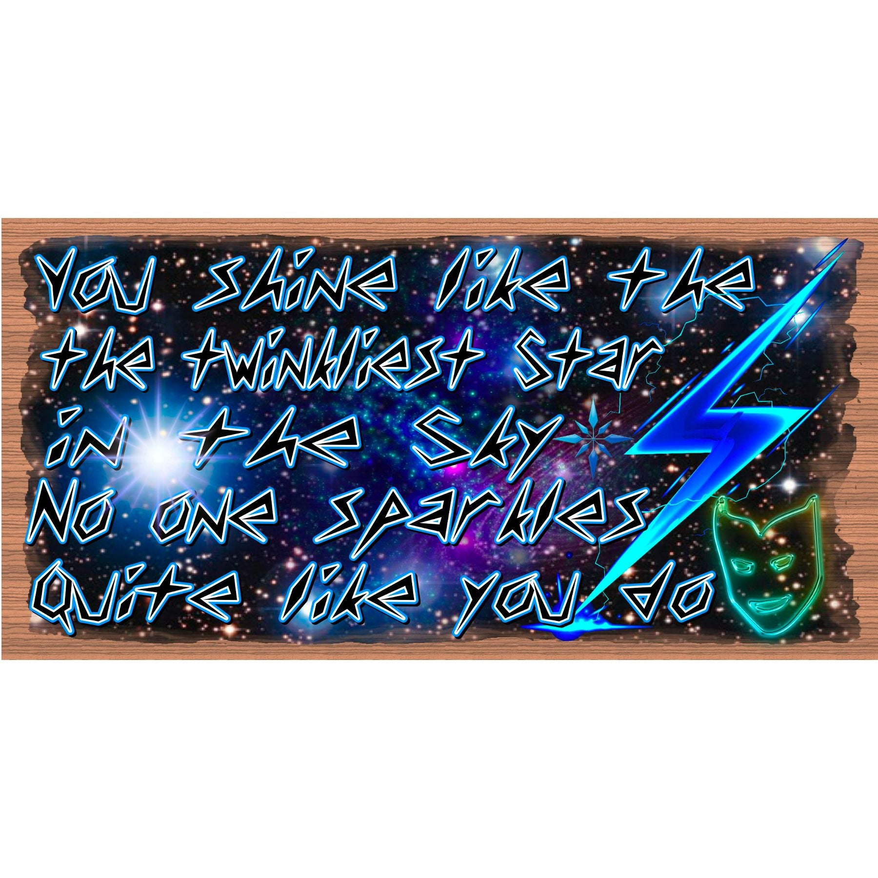 Friend Wood Signs -You Shine - GS -2946