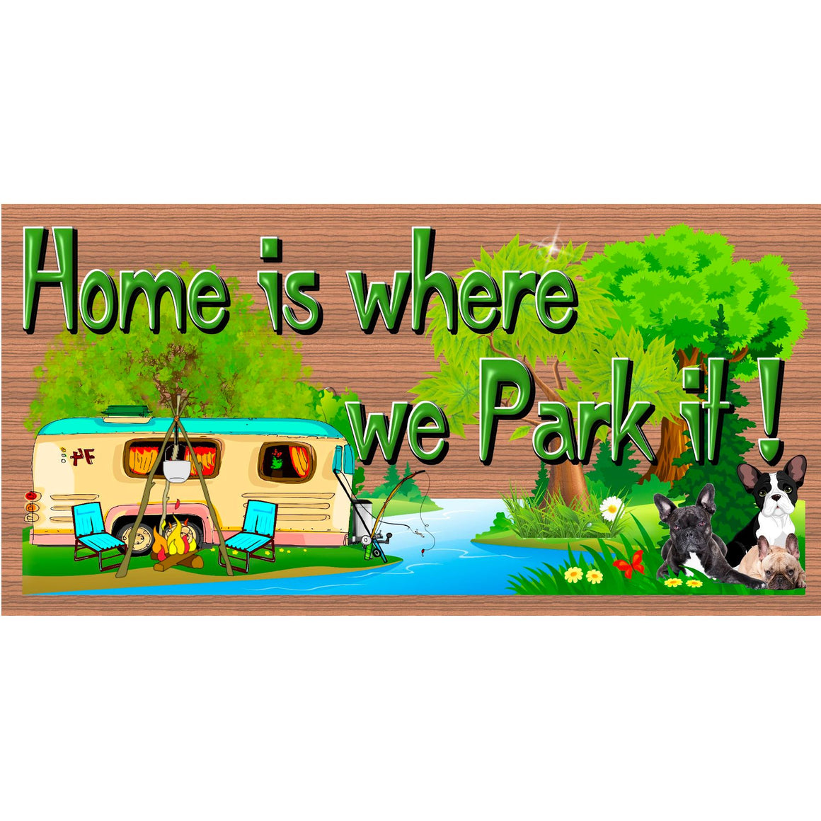 Camping Wood Signs -Camper Sign - GS 2971