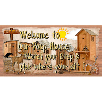 Welcome Wood Signs - Welcome Plaque  -GS 2980