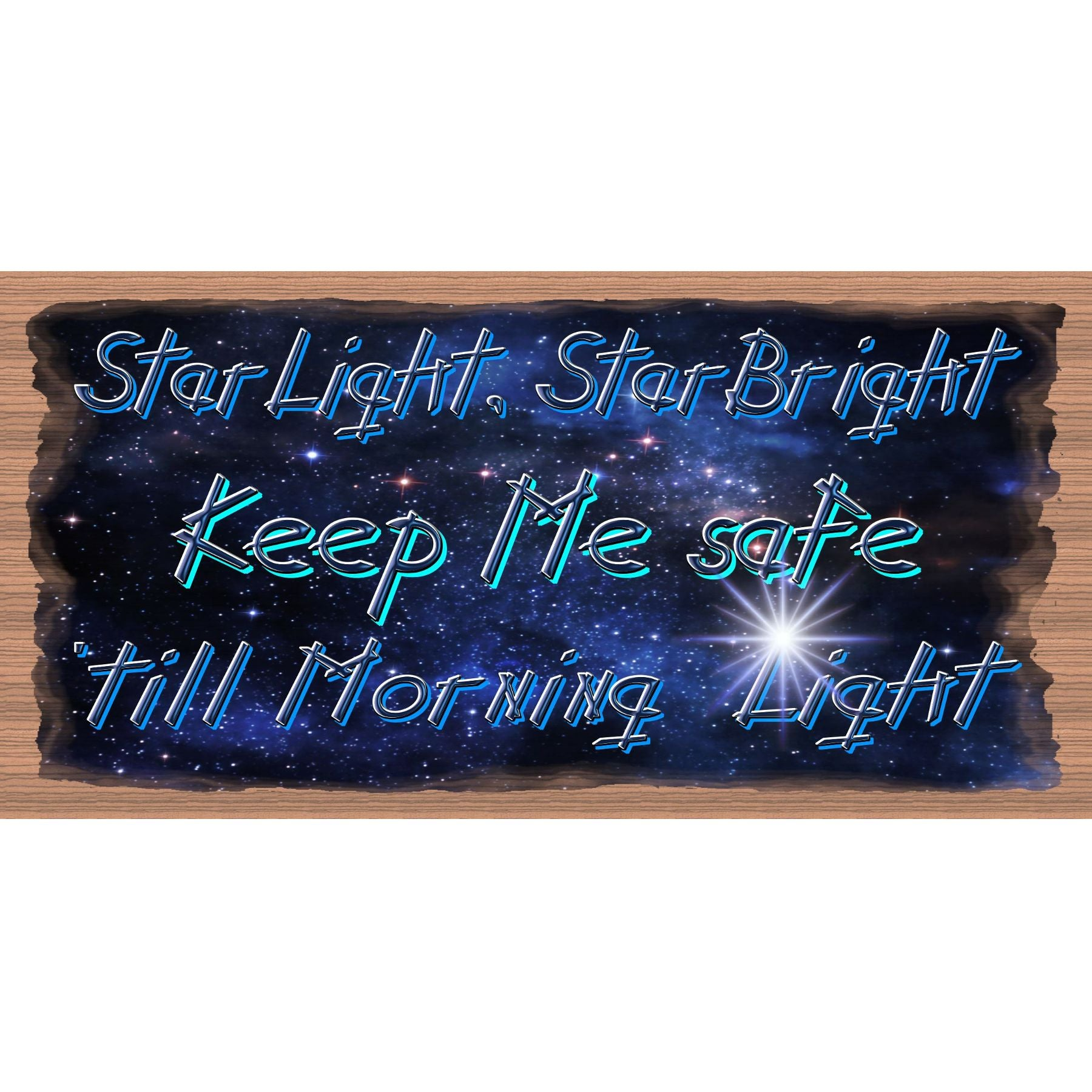 Friend Wood Signs -Star Light Star Bright - GS -2990