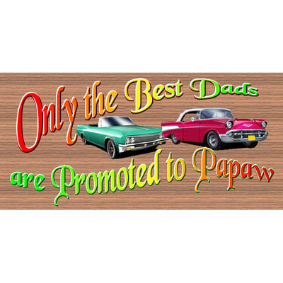 Papaw Wood Signs -  -GS 3131- Papaw Plaque