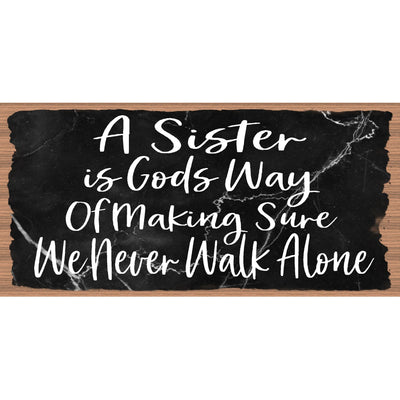 Sister Wood Signs -A Sister is Gods Way- GS 3141