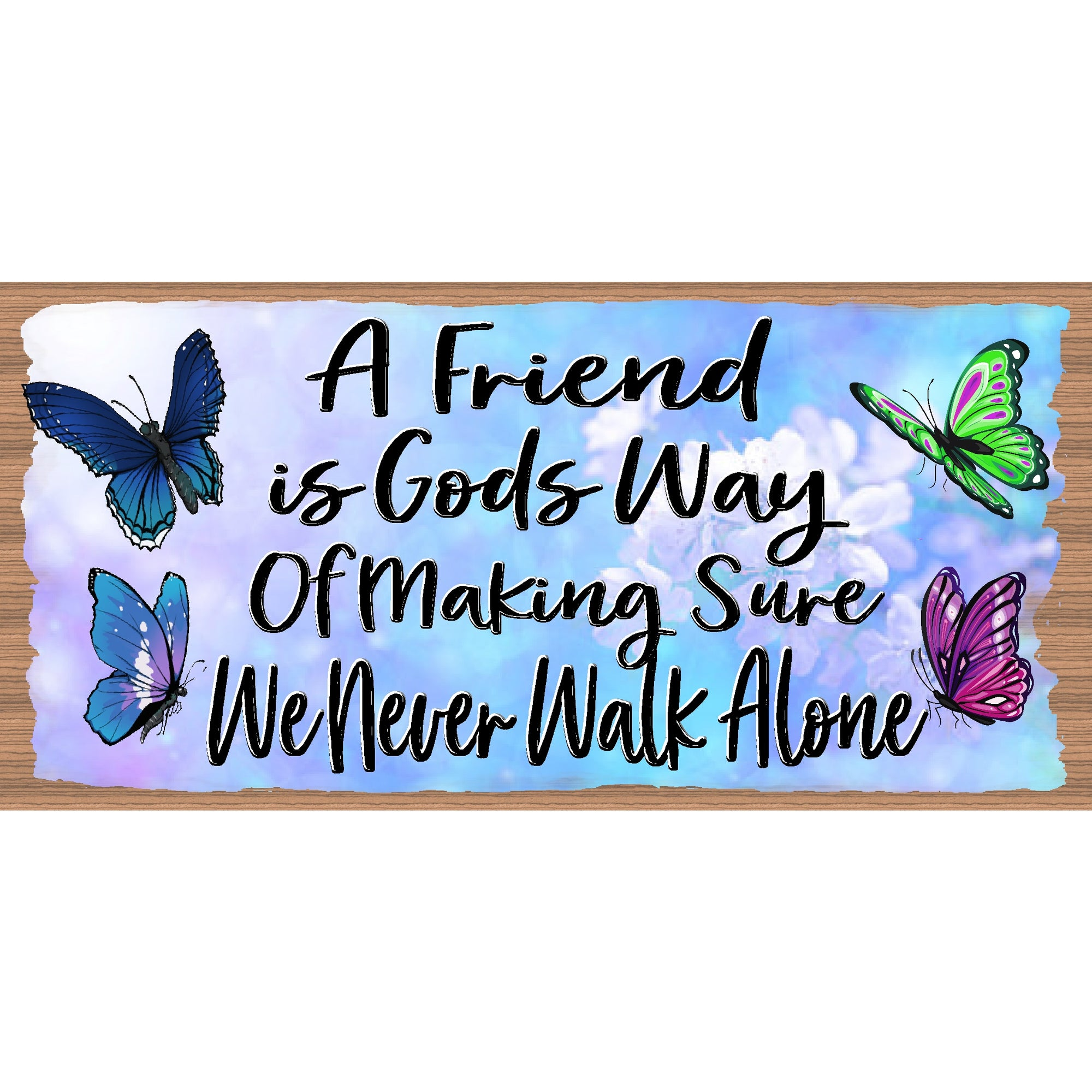 Friendship Wood Signs -Friend- GS 3150- Friendship Plaque