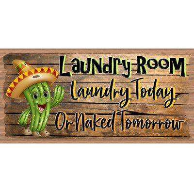 Laundry Wood Signs -Laundry Room Plaque -GS 3165 - Laundry Room Sign