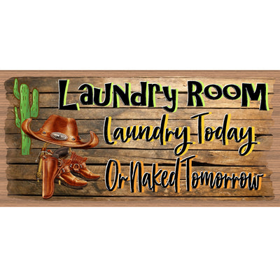 Laundry Wood Signs -Laundry Room Plaque -GS 3166 - Laundry Room Sign