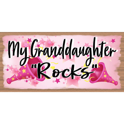 Granddaughter sign - Granddaughter Plaque - GS 397X