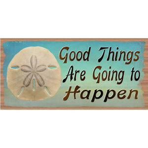 Encouragement Wood Signs - Good Things - GS 548 -Gigglesticks