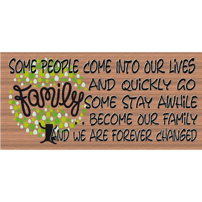 Family Wood Signs - Family - GS 558 - Family Wood sign - Family Plaque