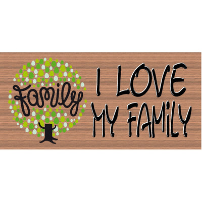 Family Wood Signs - Handmade Wood Sign - Family - GS 579 - Family Wood sign