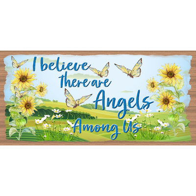 Angel Wood Signs --GS 591 - Angels are Among Us