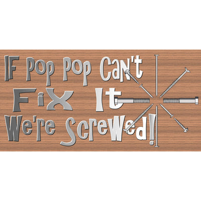 Pop Pop Wood Signs-GS 845 -Pop Pop Plaque