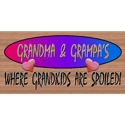 Grandma Wood Signs - Grandma and Grandpas Place - GS 243