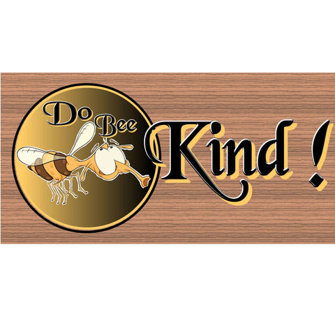 Wood Signs - Doo Bee Kind Wood Plaque GS604