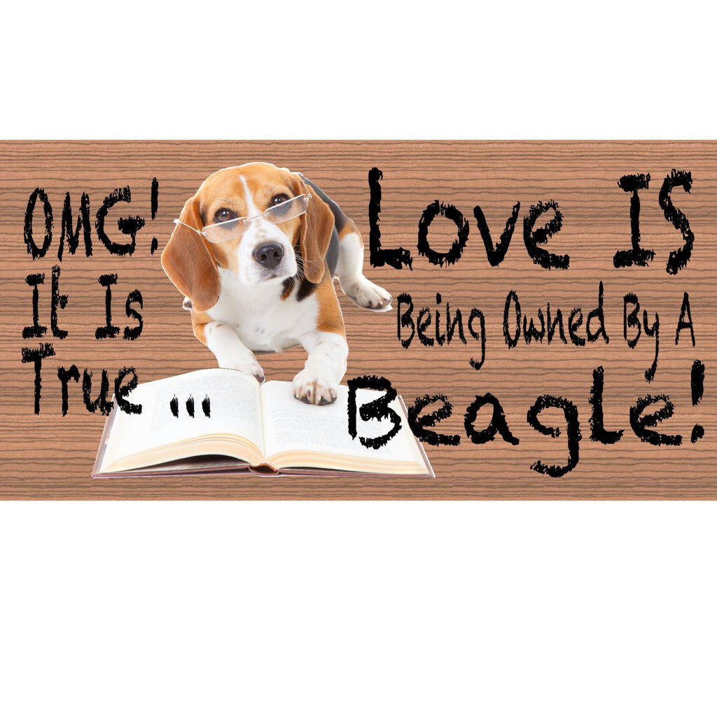Wood Signs - Beagle GS424