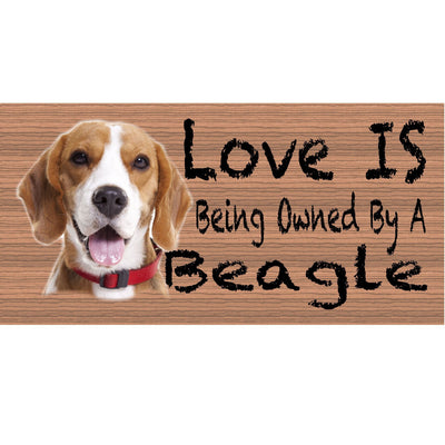 Beag;e Wood Signs -Beagle Plaque- GS 427 -Dog Sign