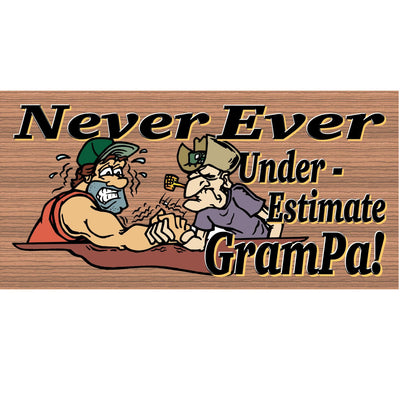 Grampa Wood Sings - GS 310 - Grampa Plaque