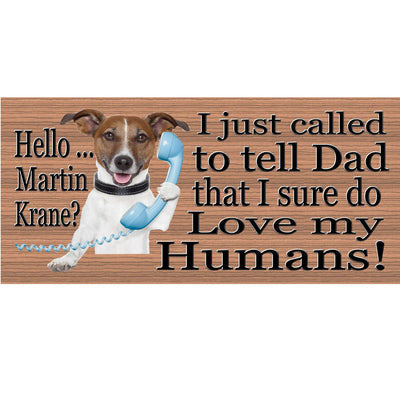 Jack Russell Wood Signs -Jack Russell Dog Plaque GS 452 Dog sign