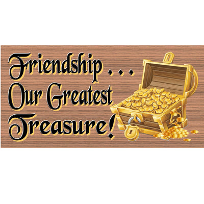 Friend Wood Signs -GS 340- Friendship plaque