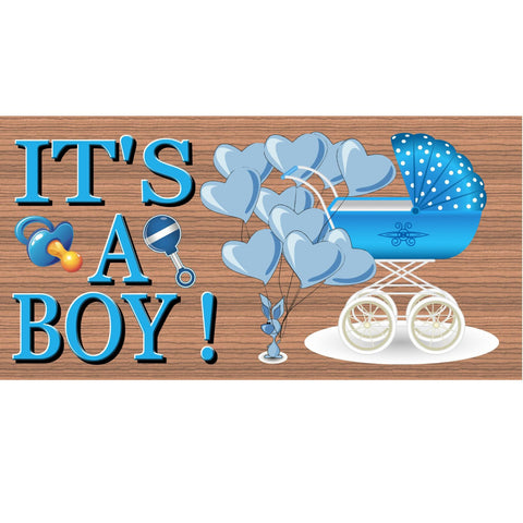 Baby Wood Signs -It's a Boy- GS 901-Baby Boy Plaque