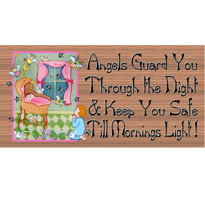 Baby Wood Signs -Nursery Sign -GS 906- Baby Plaque