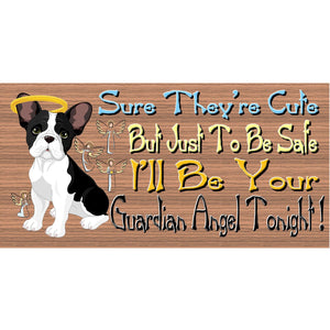 French Bulldog Wood Signs - GS 461- French Bulldog Plaque