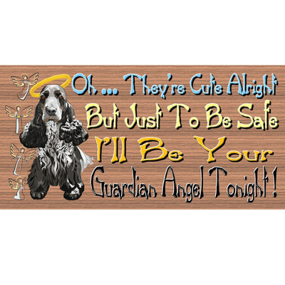 Cocker Spaniel Wood Signs - GS 466 - Cocker Spaniel Plaque - Dog Sign
