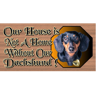 Dachshund Wood Signs - G S475 - Dachshund Wood Plaque - Dog Sign Primitive