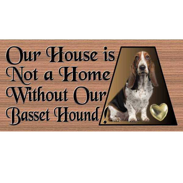Wood Signs - Handmade Wood sign, Basset Hound GS477, Basset Hound wood sign, Basset Hound plaque