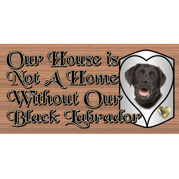 Wood Signs - Black Lab GS493 Black Lab Plaque - Dog wood signs