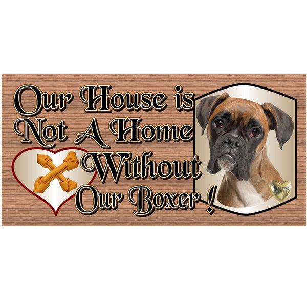 Wood Signs - Boxer GS494 Boxer plaque