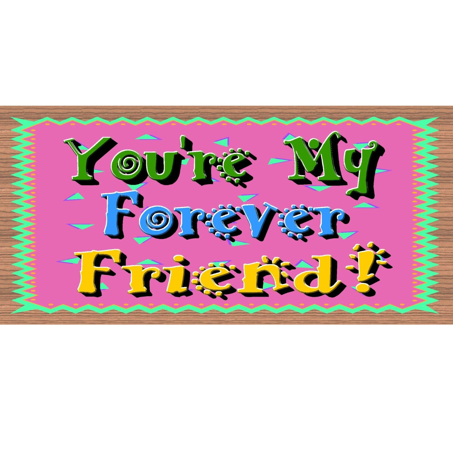 Friend Wood Signs - GS 1047 - Friend Plaque