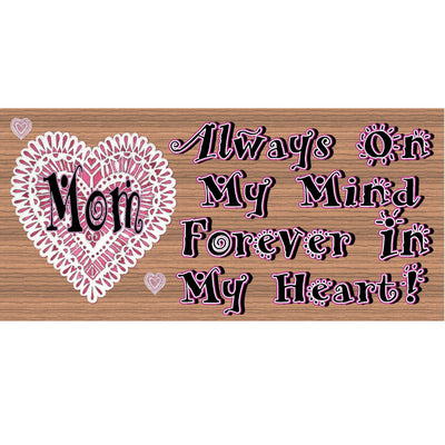 Mom Wood Signs - Mothers Day Sign - GS 1085 - Mom Plaque